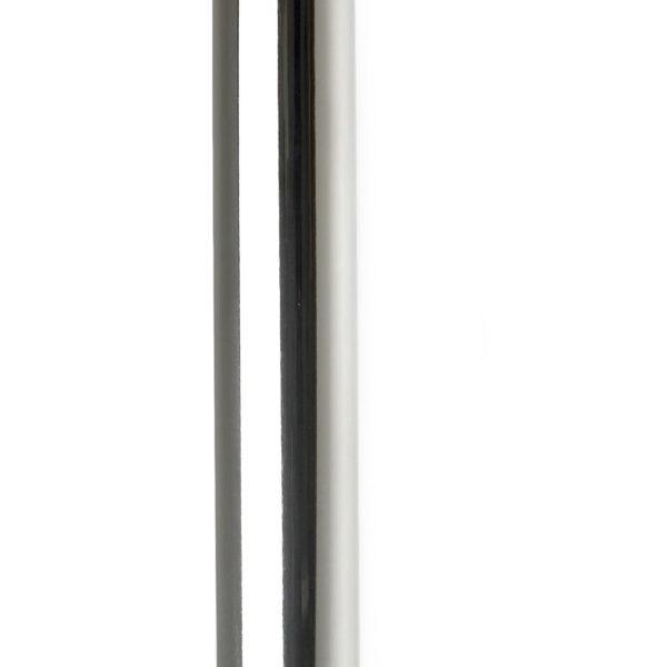 """Chrome topprør m/bøy - Innv.diam. 6"""" (15,24 cm) - Lengde: 108"""" (274 cm) 1"""