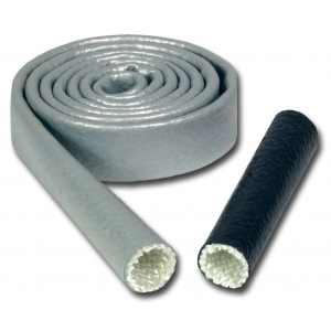 1/2'' (12,7 mm) Heat Sleeves slange med fôring, 300 cm - Sort farge 1