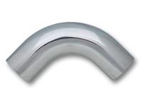 """3"""" (7,62 cm) utv. diameter - 90 grader aluminium bend 1"""