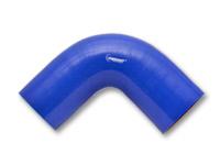 SILIKON BEND 90 grader Farge: Blå, Innv.diam: 2'' (50,8 mm.) Benlengde: 10 cm. 3
