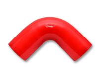 SILIKON BEND 90 grader Farge: Rød, Innv.diam: 2'' (50,8 mm.) Benlengde: 10 cm. 5