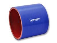 """Blå silikonslange, Innv.diam: 1,5"""" (38,1 mm), Lengde: 3"""" (7,6 cm) 1"""