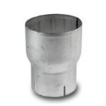 """Overgang: 2,5"""" (63,5 mm) lnnv - 2,75"""" (69,8 mm) Utv. diam. - Lengde:15 cm. 19"""