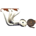 Eksosbandasje - 5,08 cm. bredde - 1,5 mm tykkelse - 4,5 m lengde - gråsort farge 4