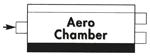 """Effektlyddemper TURBO STYLE - Inn/Uttaksdiameter: 2 1/2"""" inn / 2 stk 2 1/2"""" ut 11"""