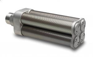 """4"""" (101,6 mm.) BSPT hanngjenger - Diam: 20,3 cm. - Lengde: 59 cm. - Type: M40 19"""