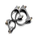 """Til rørdiameter: 1"""" (25,4 mm) U-klemme i stål 1"""