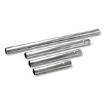"""Aluminiserte Rette stålrør - utv./utv.diam. 152 cm Rørdiameter: 2 ½ """" (63,5 mm.) 23"""