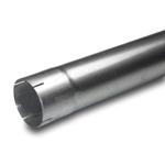 """Rustfrie, Rette stålrør - Innv./utv.diam. 100 cm Rørdiameter: 3 """"76,3mm 7"""