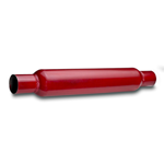 "Red Hot Muffler Inn/Uttak:2 1/4"" 57,1mm 3"