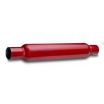 "Red Hot Muffler Inn/Uttak: 2 1/2"" (63,5 mm.) 5"