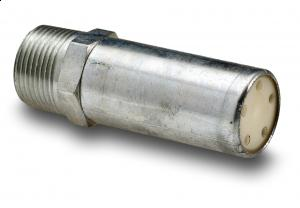 """1/8""""  (3,1 mm.) NPT hann gjenger - Hex: 7/16. - Lengde: 3,5 cm. - Type: A18 1"""