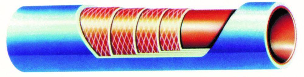 28,6 mm.innv.diam./38,5 utv.diam. - 90 cm lang - Trykk: PSi 525/BAR 36,2 1