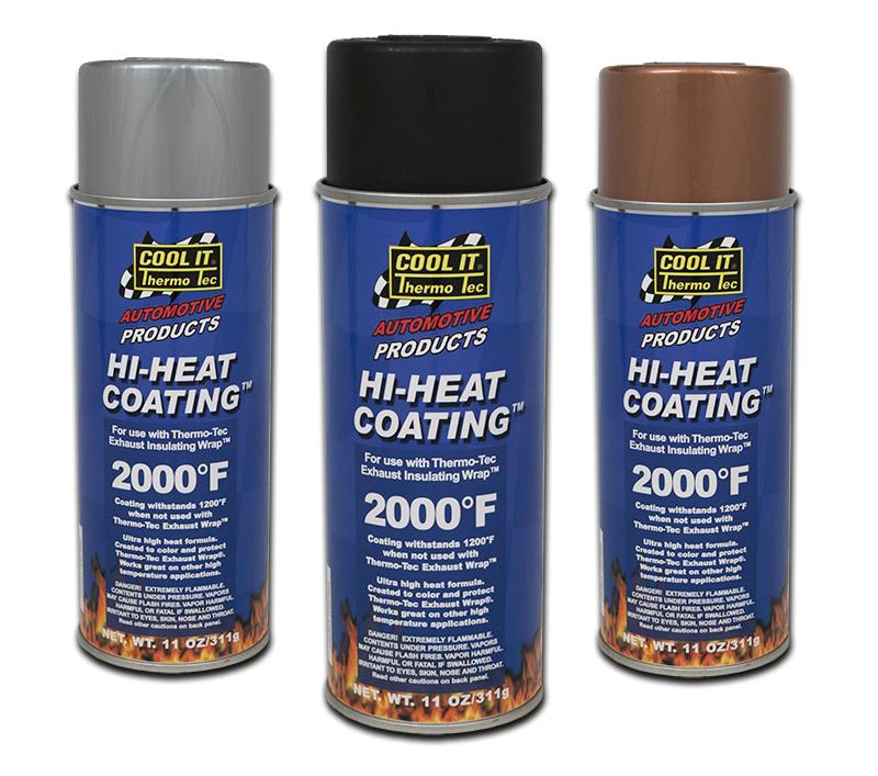Beskyttelsesspray høytemperatur Kobber farge 1